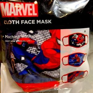 Kids' Spider-Man Cloth Face Covering NEW